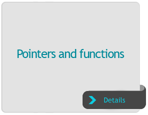 Pointers and functions