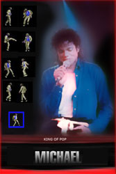 Android Application, Michael dancing