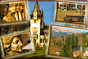 Android Application, slideshow, Autumn in Sinaia
